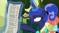 Luna -it's my turn to do the choosing- S9E13