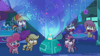 MLP Pony Life Tiny Pop - The Mane Six! Cute Impact