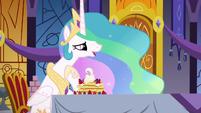 """Princess Celestia """"a small way to say I care"""" S7E10"""