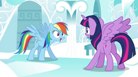 "Rainbow ""Commander Easyglider established flight choreography"" S4E21"