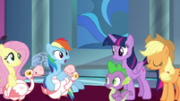 """Rainbow Dash """"I can't believe this worked!"""" S9E4"""