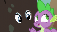 Spike --she could've told Garble about you-- S6E5