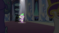 Spike steps forward under a spotlight S6E16