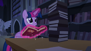 "Twilight ""find anything, Spike?"" S4E03.png"