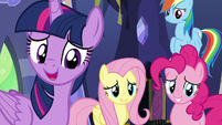Twilight -knowing we've helped fillies like you- S7E14