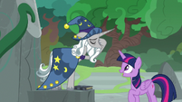 Twilight Sparkle -have been trapped in limbo- S7E25