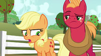 "Young Applejack ""that's usually the case"" S6E23"