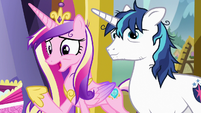 """Princess Cadance """"we could really use a night out"""" S7E3"""