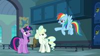 "Rainbow ""all that boring methodical stuff"" S6E24"