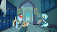 """Rainbow Dash """"a sleepover with Pinkie!"""" S6E24"""