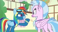 "Rainbow Dash ""make me proud!"" S9E3"