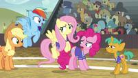 "Rainbow Dash ""you guys are amazing!"" S6E18"