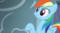 Rainbow Dash hears Pinkie Pie S6E7