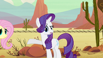 """Rarity """"Yes, why here?"""" S2E14"""