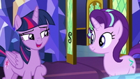 "Twilight ""what she learned about friendship"" S8E1"