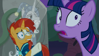 Twilight and Sunburst see images of other Pillars S7E25