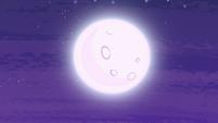 Moon shining over Equestria S6E25