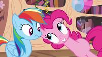 "Pinkie Pie ""the secret ingredient is"" S4E04"