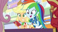 "Rainbow Dash ""forty percent off!"" EGROF"