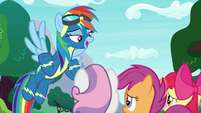 Rainbow Dash -being a Wonderbolt- S9E22