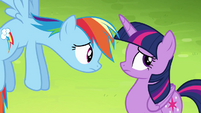 Rainbow Dash -what would you do-- S4E10