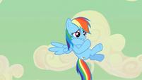 Rainbow Dash crying S2E14