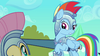 Rainbow Dash explains why they have to keep jousting S3E02