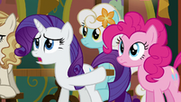 Rarity --they need to do the same-- S6E12