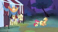 S04E20 Applejack i Apple Bloom odchodzą