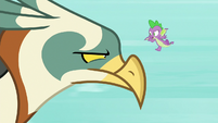 """Spike """"if you like dragons so much"""" S8E11"""