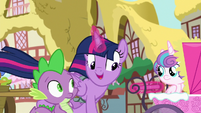 """Twilight """"the B.A.E. would never throw in the towel"""" S7E3"""