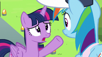 """Twilight Sparkle """"just created a gust of wind"""" S6E24"""