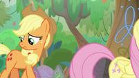 Applejack looking for foal's-breath S8E23