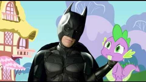 Batman meets My Little Pony