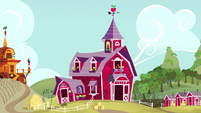 Establishing shot of Sweet Apple Acres S5E17