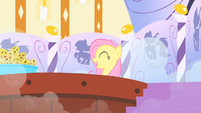 Fluttershy in the hot tub S1E20