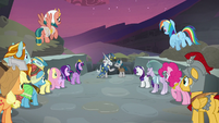 Mane Six and Pillars triumph over the darkness S7E26