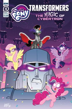 My Little Pony Transformers II issue 4 cover A.jpg