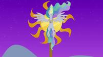 Princess Celestia raising the sun S4E02