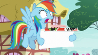 """Rainbow """"in Ponyville this weekend?!"""" S8E20"""