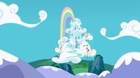 Rainbow Dash's house S3E7