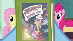 Rainbow Dash olhndo para o livro da Ousada Ativa T2E16.png
