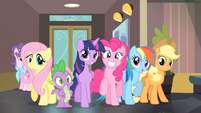 Rarity's friends coming back for Rarity S4E08