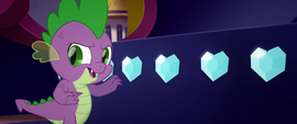 """Spike """"taking one or two to taste"""" MLPTM"""