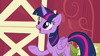 Twilight --you head out to the spa-- S6E10