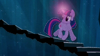 Twilight Sparkle descends the spiral staircase BFHHS5