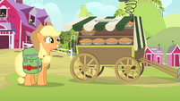 Applejack smile S4E17