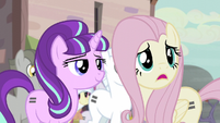 "Fluttershy ""joining"" the town S5E02"