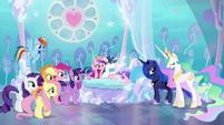 Princess Celestia --something Equestria has never seen-- S6E1