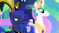 """Princess Luna """"real life is happening out here"""" S9E13"""